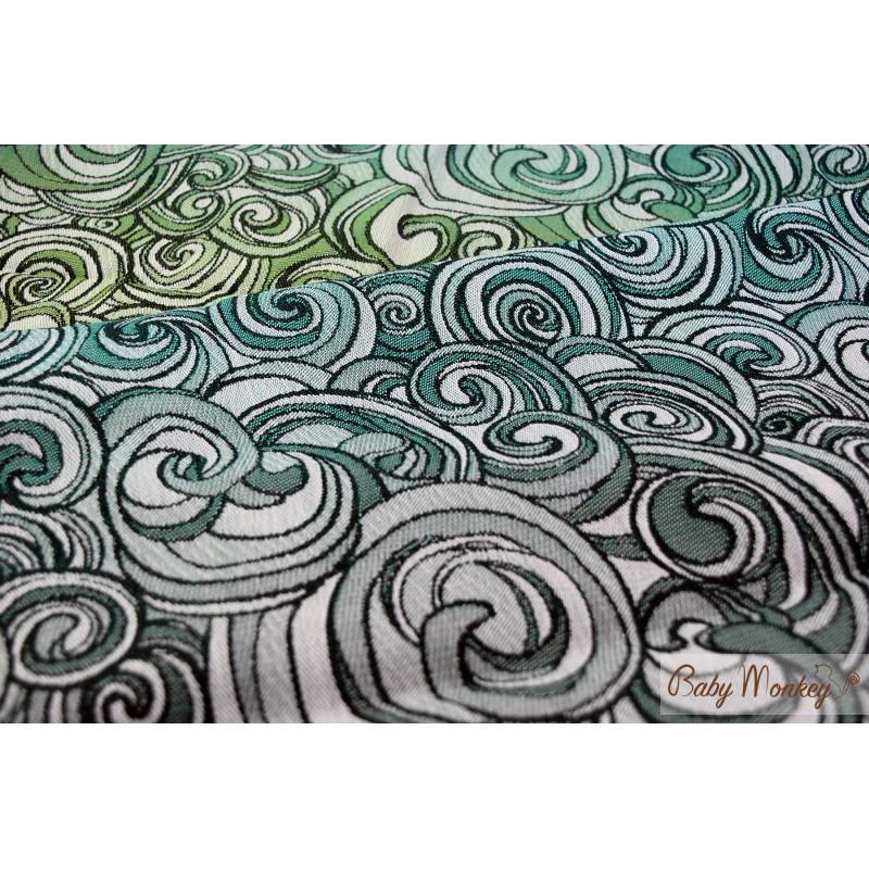 800x800 Babymonkey Spirals Aurora Wrap