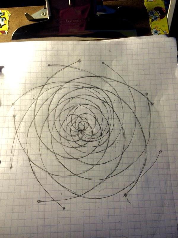 600x800 Drawing A Mathematically Correct Pinecone With Fibonacci Spirals