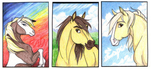 500x230 Spirit Stallion Of The Cimarron Images Spirit, Rain, Esperanza