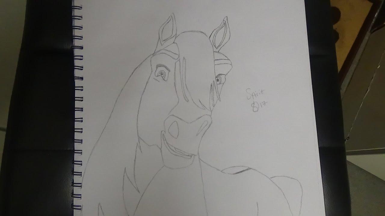 1280x720 Spirit Stallion Of The Cimarron Drawing Spirit