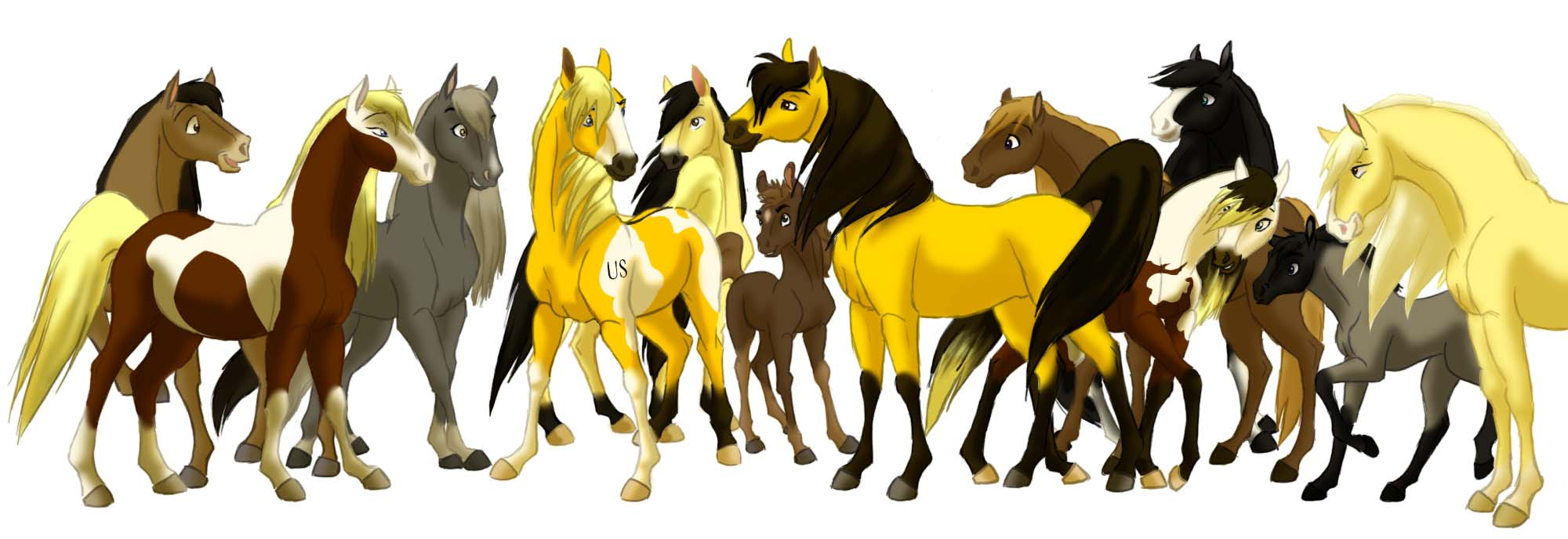 Spirit Stallion Of The Cimarron Drawing At Getdrawings Free Download