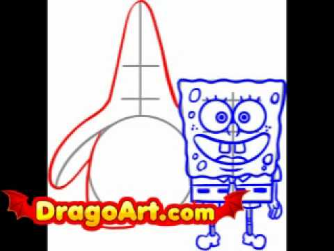 480x360 How To Draw Spongebob And Patrick, Step By Step