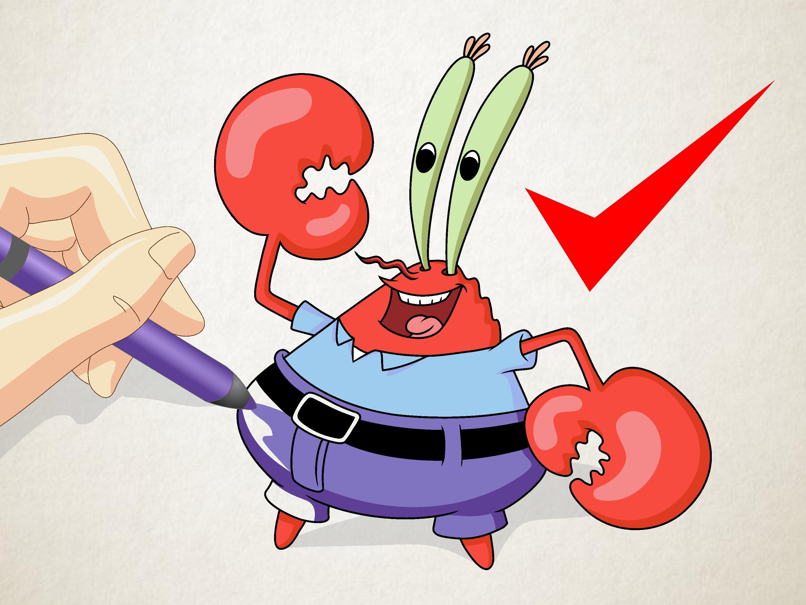 3200x2400 Drawing Spongebob Characters