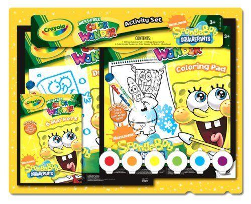 500x407 Crayola Nick Spongebob Activity Set By Crayola. $29.09. 6 Color