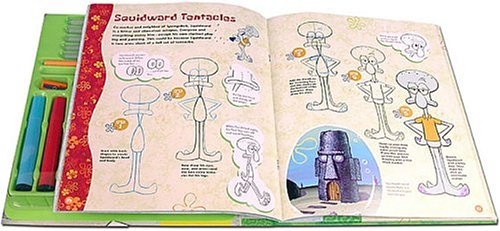 500x231 How To Draw Spongebob Squarepants Drawing Book And Kit