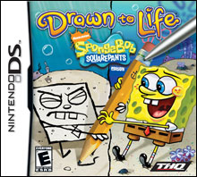 220x198 Drawn To Life Spongebob Squarepants Edition For Nintendo Ds