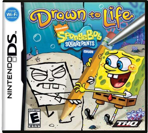 592x533 Drawn To Life Spongebob Squarepants Edition Nds Roms Download