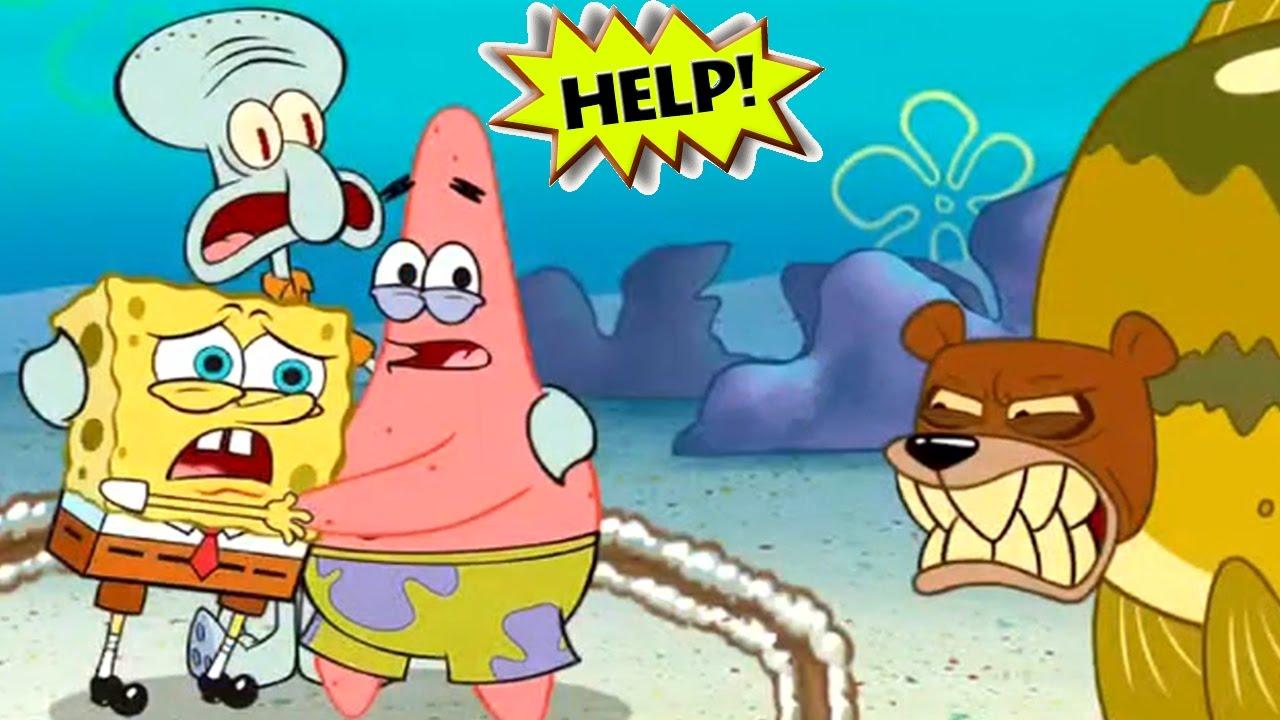 1280x720 Spongebob's Game Frenzy