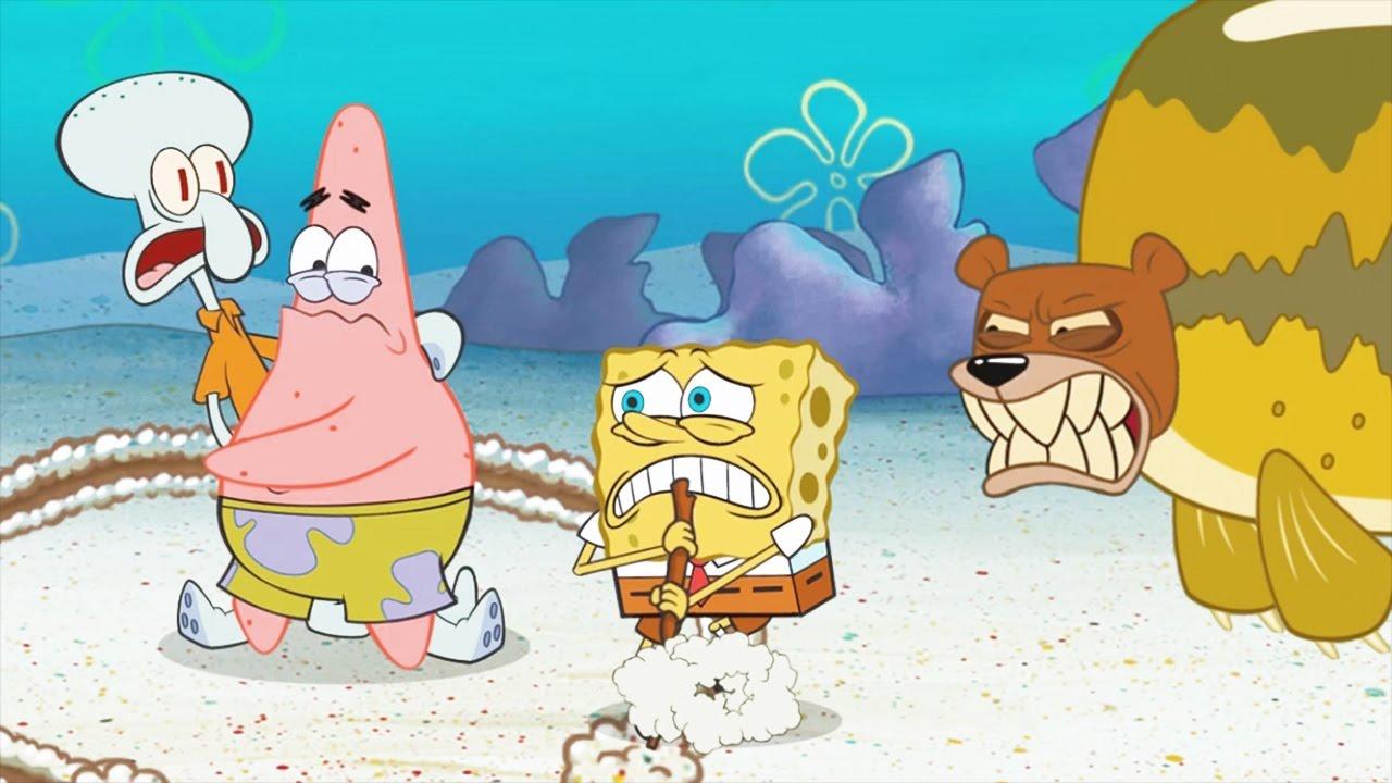 1280x720 Spongebob's Game Frenzy Draw A Circle!