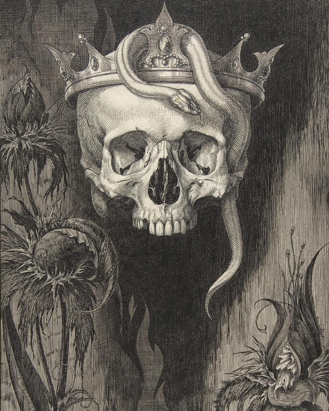 1080x1350 Enjoy Friday The 13th With This Spooky Drawing From The Collection