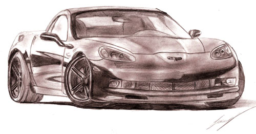 500x261 Drawing Of Sport Cars Malaysiaminilover