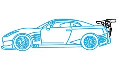 236x132 Nissan Gt R Draw! Nissan Gt, Nissan And Car Drawings