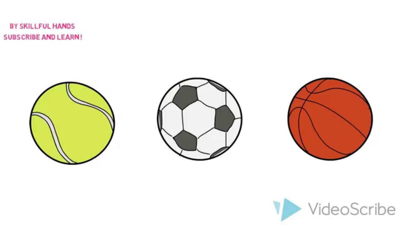 1280x720 How To Draw A Sports Balls