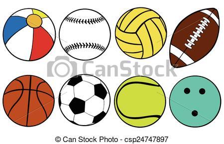 450x290 Set Of Different Color Balls Eps Vectors