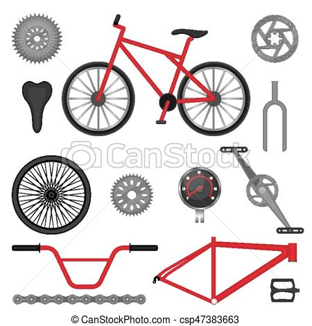 450x470 Parts Of Bmx Bike Off Road Sport Bicycle Used For Racing