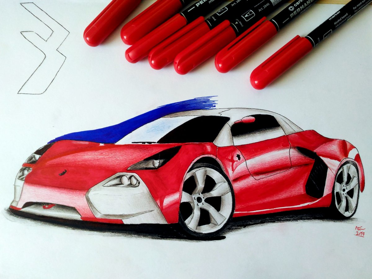 1200x900 Brutal Sport Car