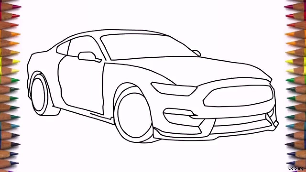 1280x720 Maxresdefault Drawing For Beginners Step By Coloring How To Draw