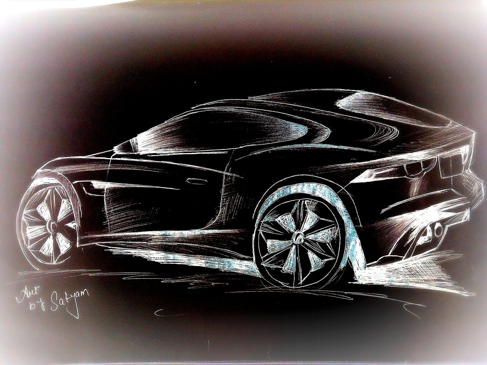 1600x1200 How To Draw Sports Car Proart By Satyam Sports