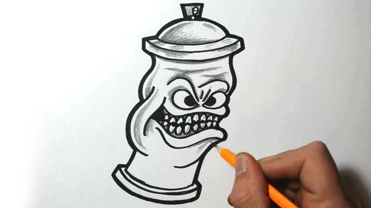 1280x720 How To Draw A Spraycan Character
