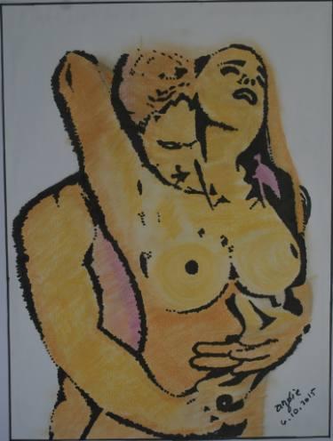 375x496 Original Love Spray Paint Drawings For Sale Saatchi Art