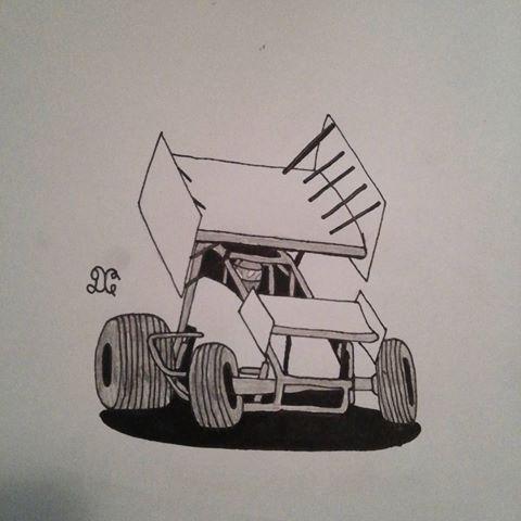 480x480 Track (@dirt Racing Drawings) Instagram Photos
