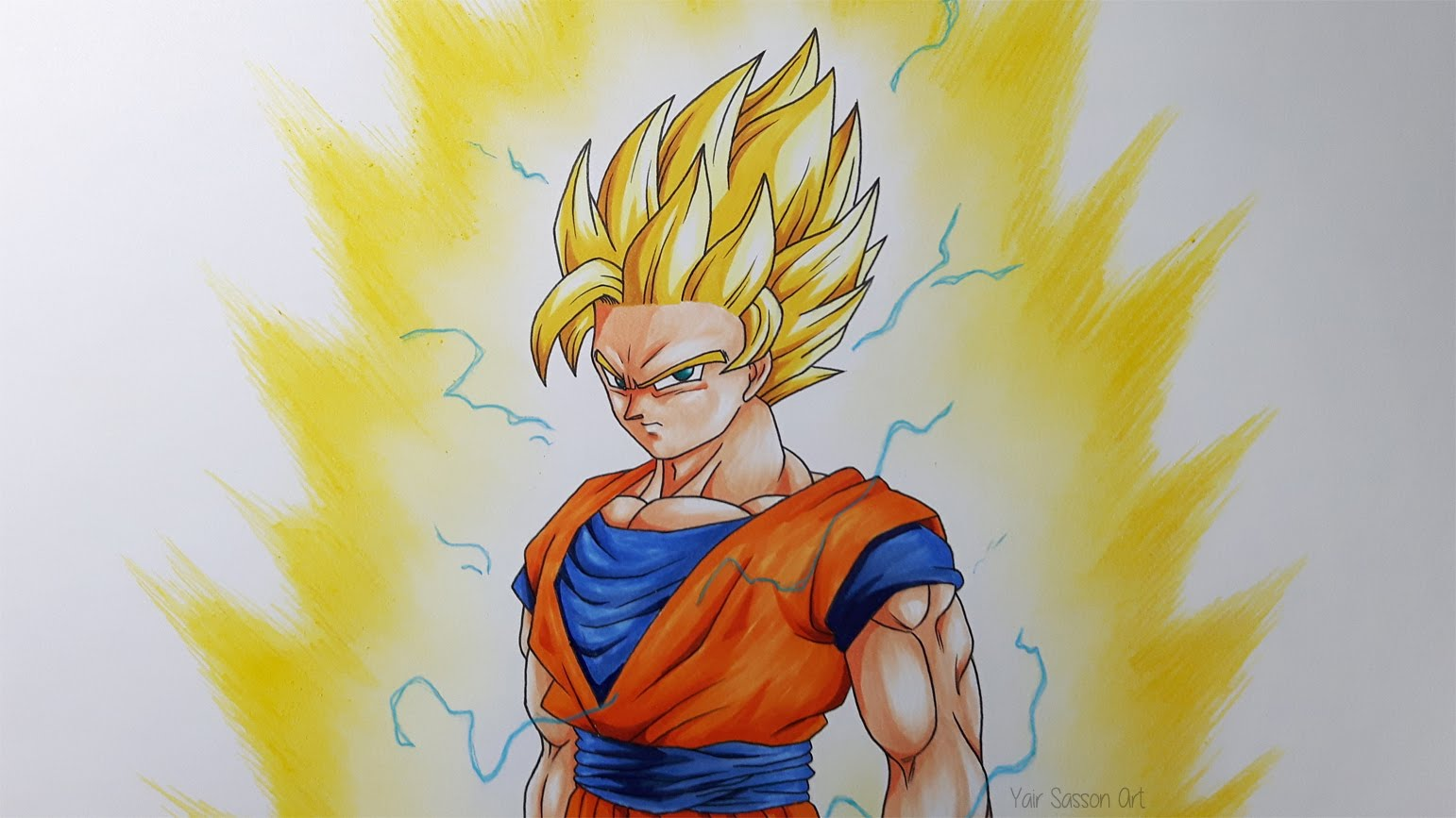 ssj goku drawing at getdrawings com free for personal use ssj goku
