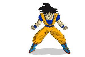 Ssj Goku Drawing At Getdrawings Com Free For Personal Use Ssj Goku