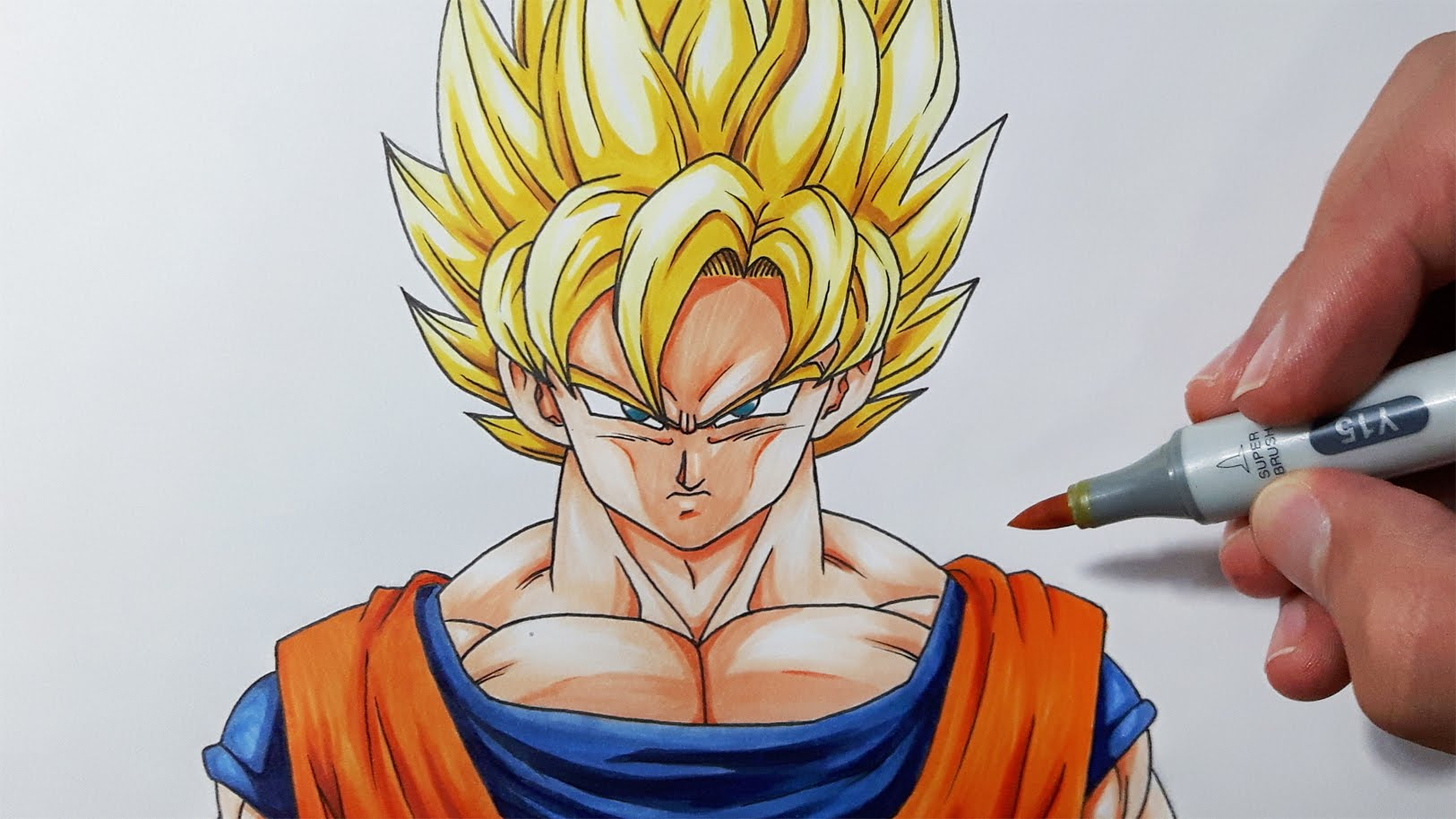 Ssj Goku Drawing At Getdrawings Com Free For Personal Use