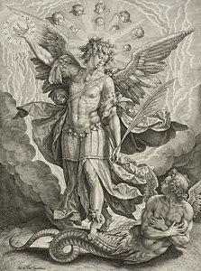 223x300 Archangel Michael Angel Drawings Fine Art America