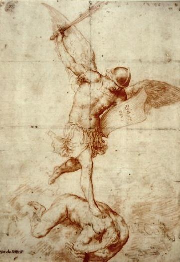 361x525 Jusepe De Ribera Saint Michael The Archangel Vanquishing The Devil
