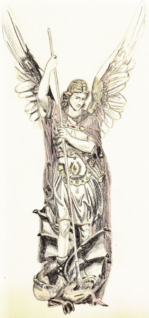 481x1024 St. Michael The Archangel By ~fanking