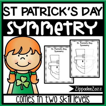 350x350 St. Patrick's Day Symmetry Drawing Activity For Art And Math By