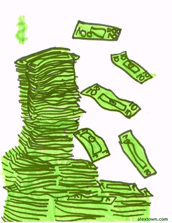 595x770 Money Pictures Huge Stack Of Money Dollar Bills