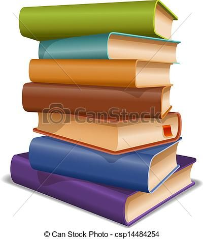 402x470 Stack Books Vector Clipart Royalty Free. 2,703 Stack Books Clip
