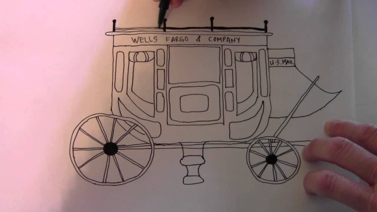 1280x720 How To Draw A Stage Coach