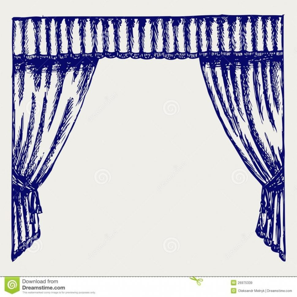 970x968 Curtains To Make A Pvc Pulley Display Doodles Juin Stage Curtain