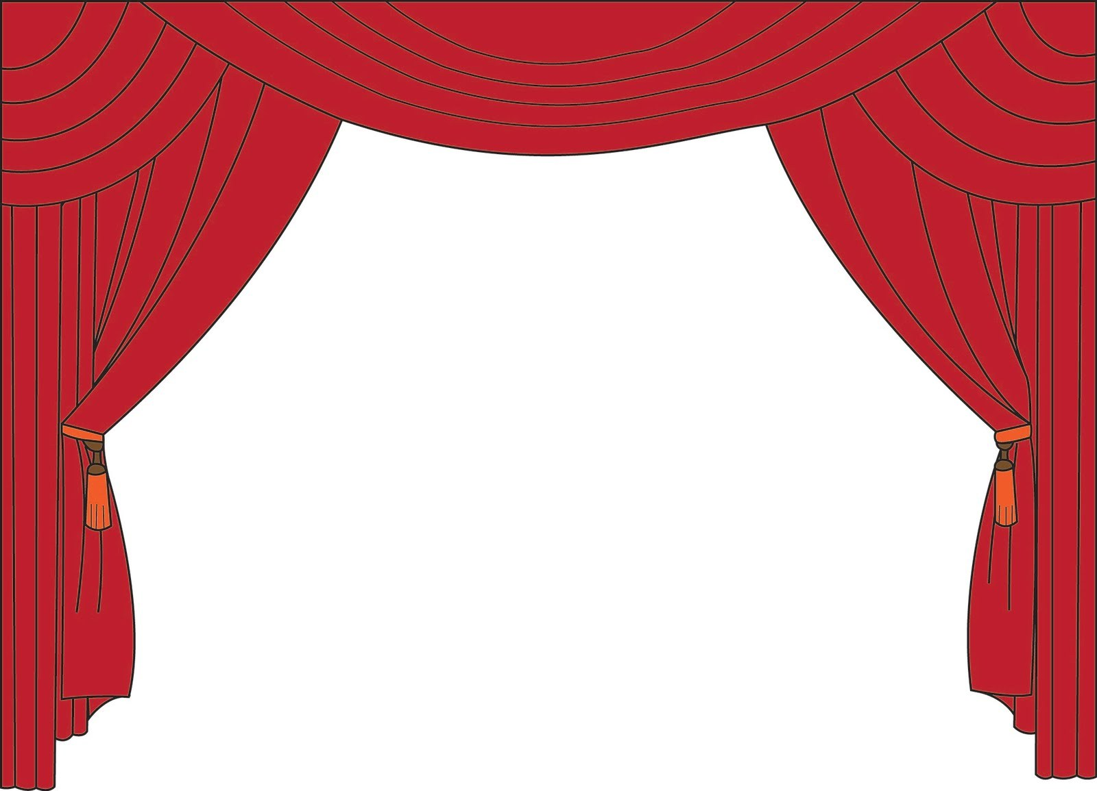 1600x1155 How To Draw Stage Curtains Step By Okeviewdesign.co