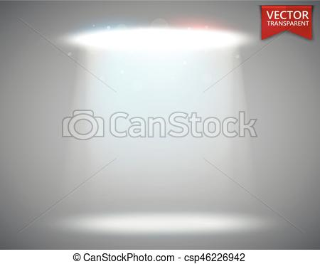 450x371 Spotlight Scene Transparent Light Effect. Stage Light Eps