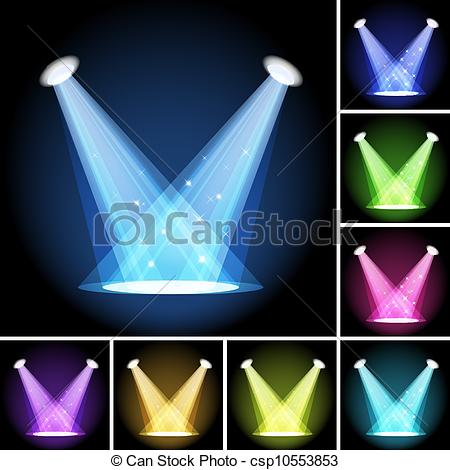 450x470 Stage Light Mesh Eps10 Clipping Mask This File Contains