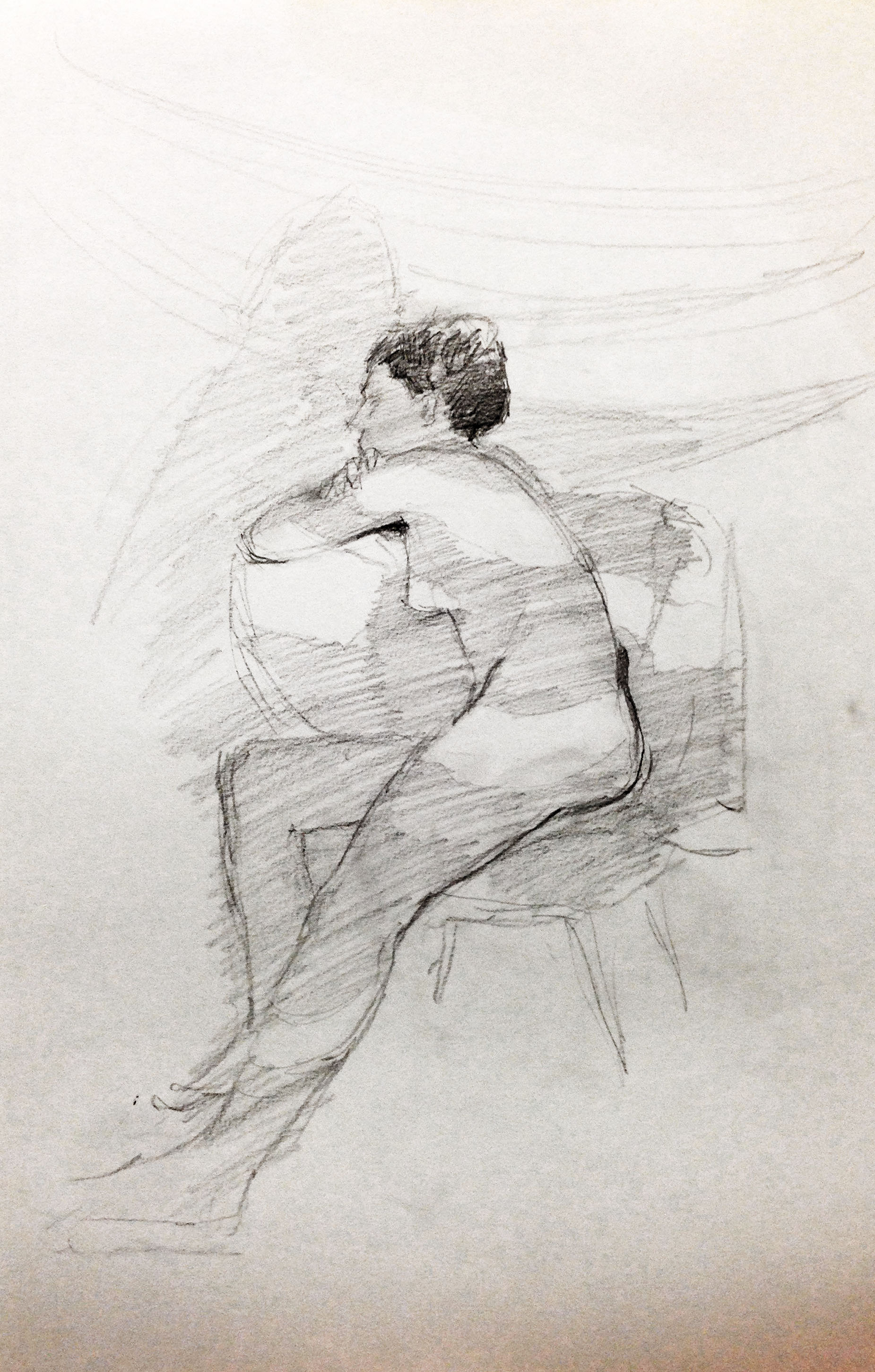 1851x2900 Thursday Life Drawing @ Atelier Westerdok