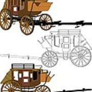 180x180 Stagecoach Without Horses