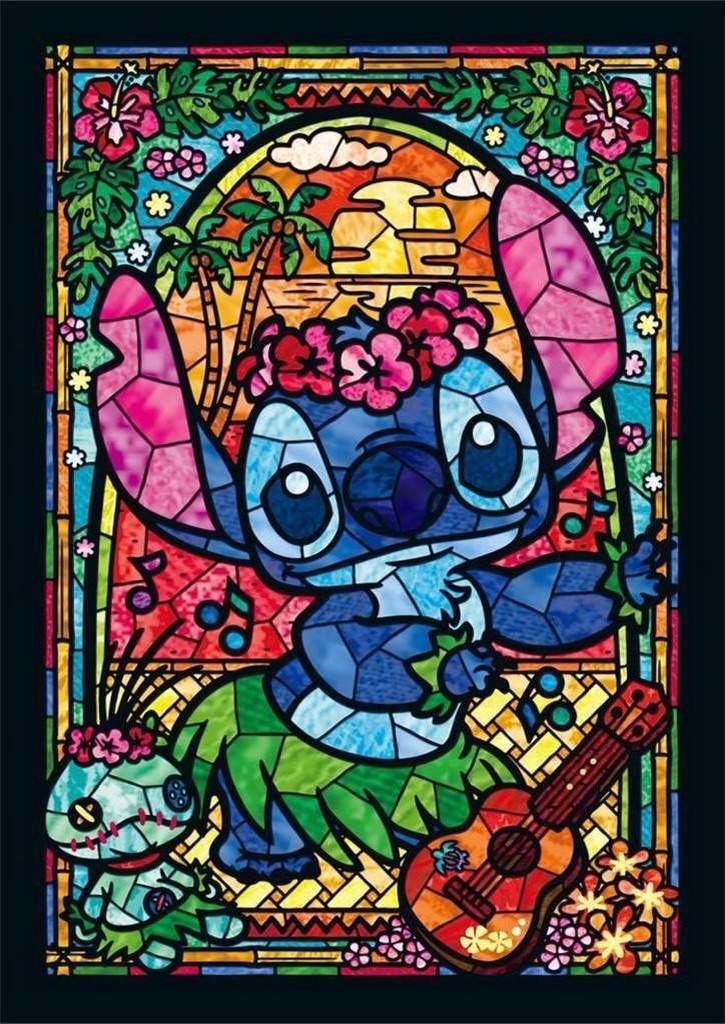 725x1024 Fof Stained Glass Drawing! Disney Amino