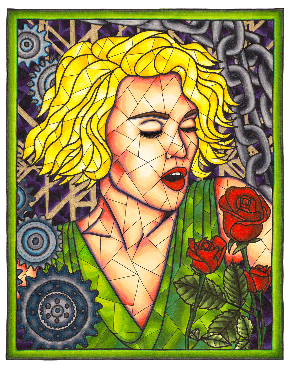 1000x1273 Stained Glass Style Gallery Rosie De Lise
