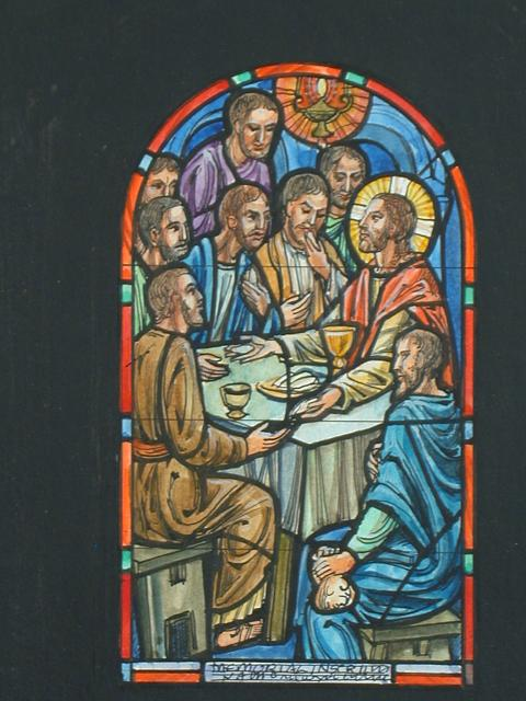 480x640 How To Draw Last Supper Drawing For Stained Glass Memorial