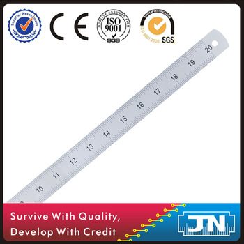 350x350 Stainless Steel Drawing Linear Ruler With Adjusted Width