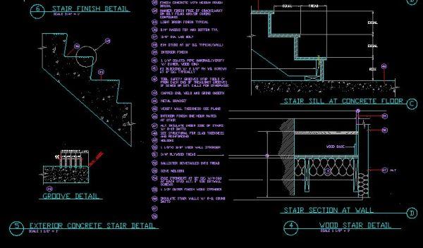 600x352 â˜u2020ãu20ac Stair Detailsãu20acu0027â˜u2020 CAD Library AutoCAD