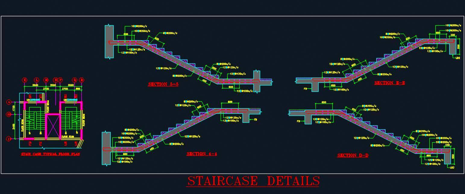 Staircase Detail Drawing At Free For Personal Use Tags Custom Stair Builder Stairs Design Diagram 1543x645 Tag Dwg Plan N