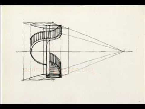 480x360 How To Draw A Spiral Staircase