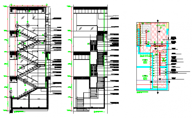 650x400 Section Design Drawing