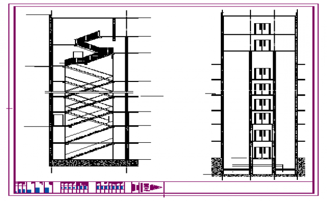 650x400 Section Detail Design Drawing
